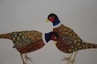 Hand Cut Pheasants