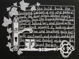 The Secret Garden (Words by Frances Hodgson Burnett)